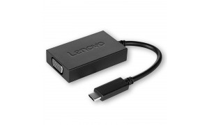 LENOVO USB-C to VGA Plus Power adapter (4X90K86568)