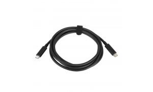 LENOVO USB-C to USB-C Cable laidas (4X90Q59480)