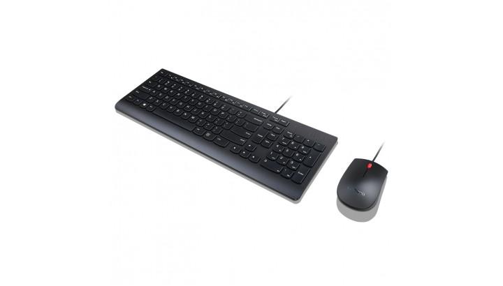 LENOVO Essential laidnės klaviatūros ir pelės rinkinys (4X30L79922)